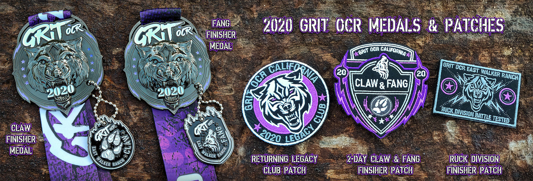 2020 Medals & Patches